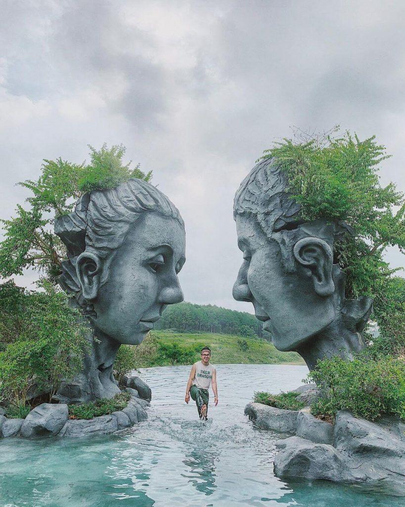 Check in Hồ vô cực địa điểm sống ảo Đà Lạt