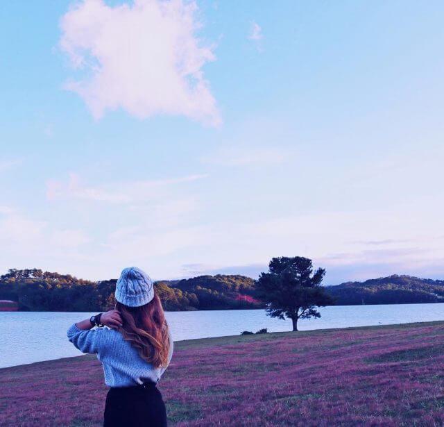 Hồ suối vàng địa điểm sống ảo Đà Lạt
