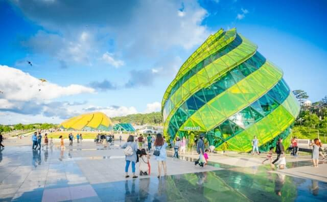Quảng trường Lâm Viên địa điểm sống ảo Đà Lạt