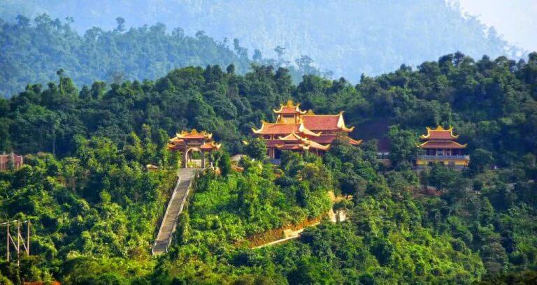 Thiền Viện Trúc Lâm địa điểm sống ảo Đà Lạt