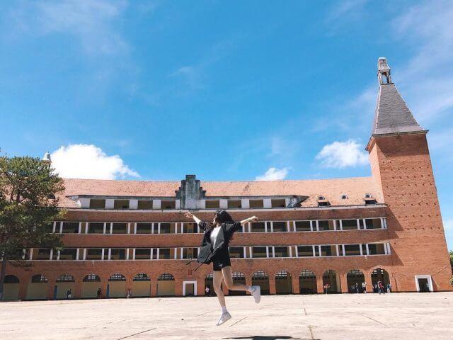 trường cao đẳng sưu phạm Đà Lạt địa điểm sống ảo Đà Lạt
