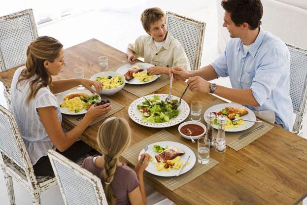 Quy tắc ứng xử trên bàn ăn tư thế ngồi rất quan trọng