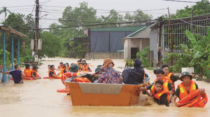 Những kỹ năng cần phải biết để hạn chế thiệt hại do thiên tai bão lũ gây ra